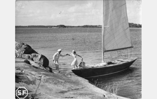 Tauno Palo ja Ansa Ikonen.