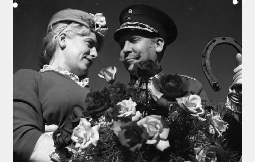Hillevi Lagerstam ja Pentti Siimes.