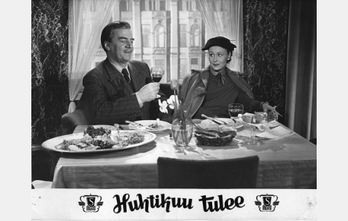 Joel Rinne ja Hilkka Kinnunen.