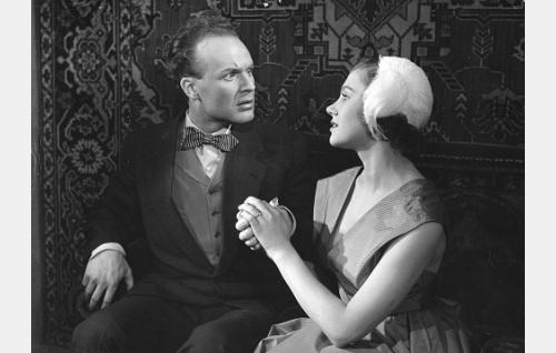 Kurt Ingvall ja Anja Räsänen.