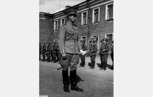 Franck, saksalainen eversti (Urho Somersalmi)