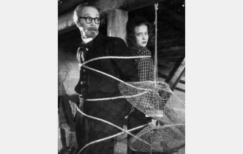 Valerius (Jorma Nortimo) ja Liisa (Tiina Rinne).