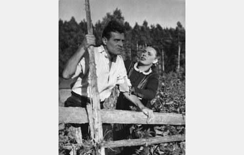 Tauno Palo ja Kirsti Ortola.
