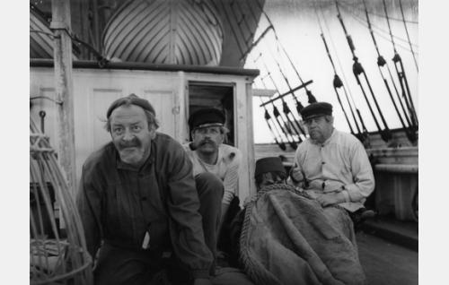 Pentti Viljanen, Einari Ketola, Ari Laine ja Reino Valkama.