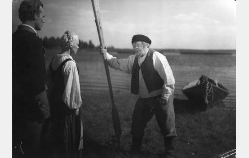 Matti Oravisto, Eija Inkeri ja Aku Korhonen.
