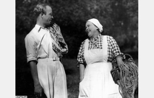 Pentti Viljanen ja Elsa Rantalainen.