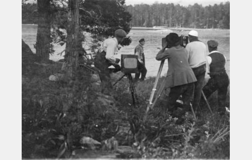 Kuvaussuunta pohj. Varis ja Pitkäluoto, Laajasalo, Helsinki. LPH