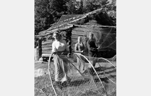 Rauni Luoma, Mirjam Novero ja Kaarlo Halttunen.