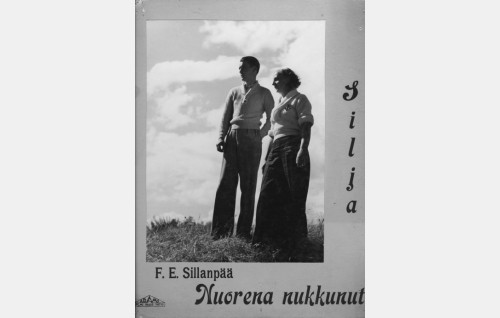 Armas (Otso Pera) ja Laura (Rakel Leino).