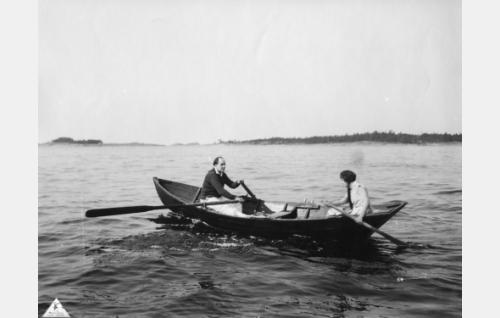 Sven Holdén ja Lillan Järnefelt