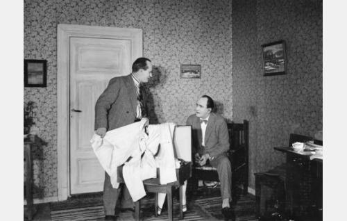 Paavo Costiander ja Sven Hildén.