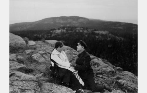 Martta Hannula ja Toivo Suonpää