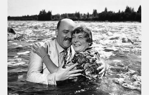 Eero Roine ja Emmi Jurkka
