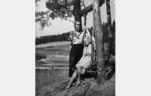 William Markus ja Tuija Halonen.