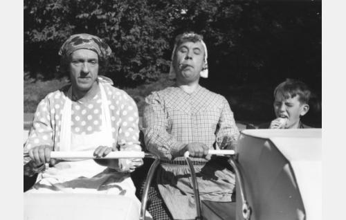 Esa Pakarinen, Masa Niemi ja Risto Jussila.