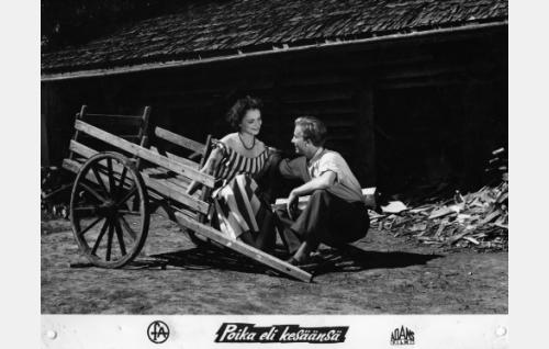 Eila Peitsalo ja Pertti Weckström.