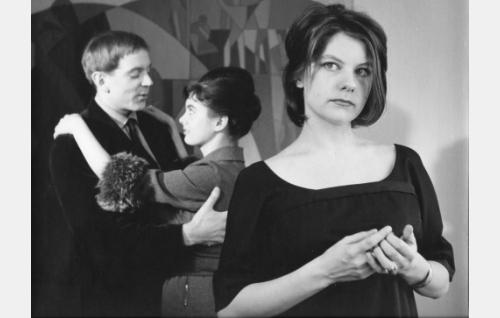 Jaakko Pakkasvirta, Liana Kaarina ja Sinikka Hannula.