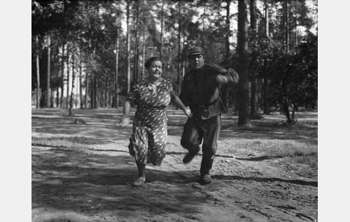 Martta Karlo ja Matti Lehtelä.