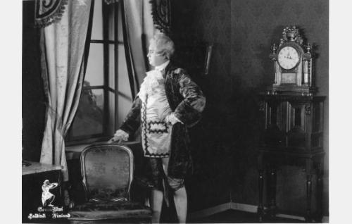 Takaumajakso Kustaa III:n hoivissa - Magnus Drakenhjelm nuorena (Felix Borg)