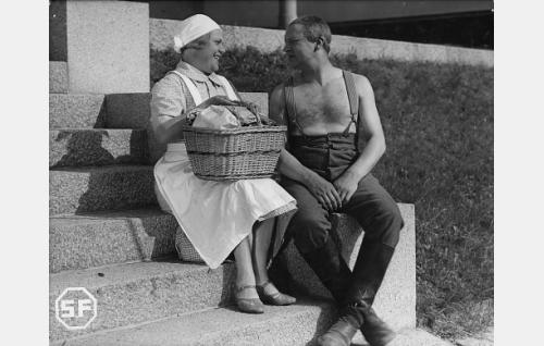 Siiri Angerkoski ja Kaarlo Angerkoski.