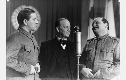 Henry Theel, Markus Rautio ja Ossi Elstelä.
