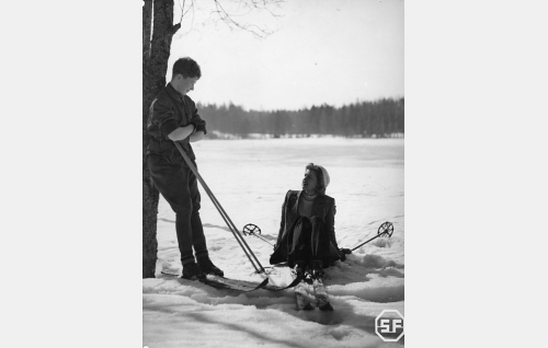 Lasse Pöysti ja Sirkka Osmala.