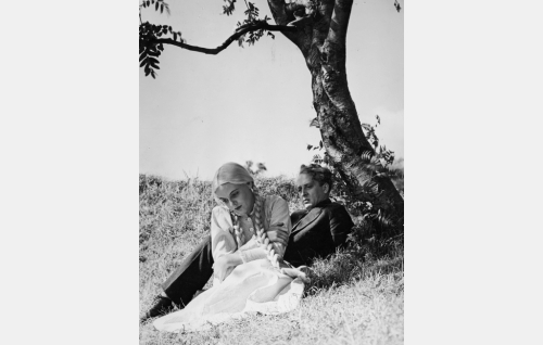 Anni (Regina Linnanheimo) ja Matti (Pentti Viljanen).