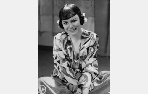 Ilona Vartio (Sirkka Sipilä) esiintyy näyttelijänä nimellä Aune Aarrekoski.