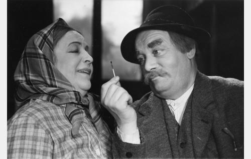 Aino Haverinen ja Aku Korhonen.