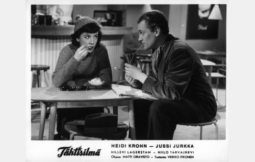 Heidi Krohn ja Jussi Jurkka.