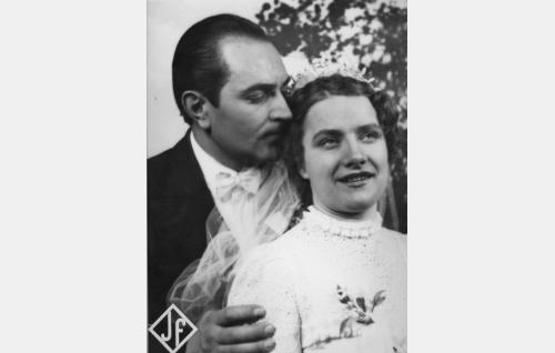 Santeri Karilo ja Maija-Liisa Fredman.