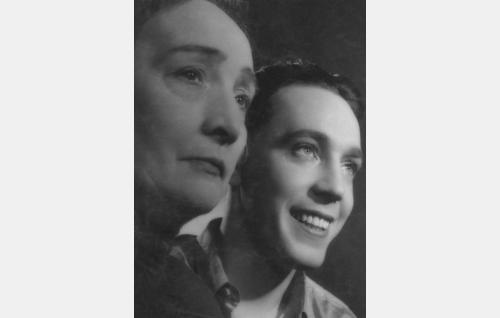 Olga Tainio ja Kille Oksanen.
