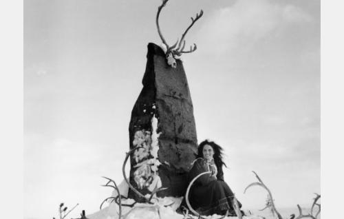Mirjami Kuosmanen (Pirita) ja suuri seita.