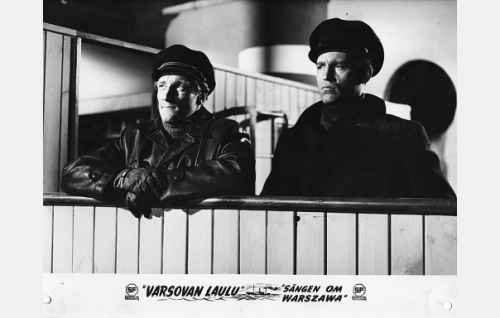 Åke Lindman ja Matti Oravisto.