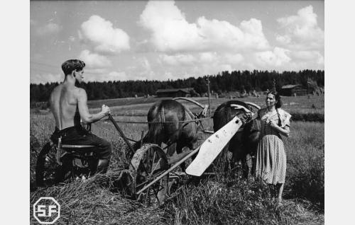 Esko Vettenranta ja Mirjami Kuosmanen.