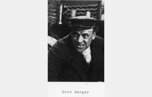 Tuottaja-ohjaaja-näyttelijä Bror Berger.