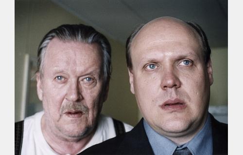 Isä ja poika (Risto Salmi ja Hannu-Pekka Björkman).