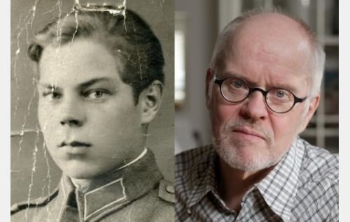 Isä ja poika (Kauko Mäkinen). Kuva: Filmimaa Oy.