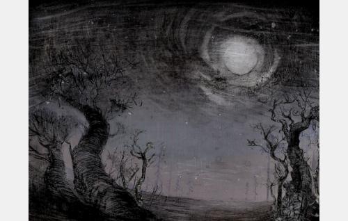 Veronika Besedinan animaatiokuvitusta Kaisa Gauriloffin tarinaan. Kuva: Oktober Oy.