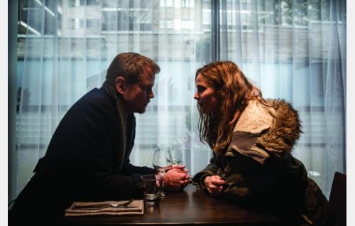 Ricky (Antti Luusuaniemi) ja Annika (Pihla Viitala). Kuva: Laura Malmivaara © 2015 Huh huh -filmi Oy.
